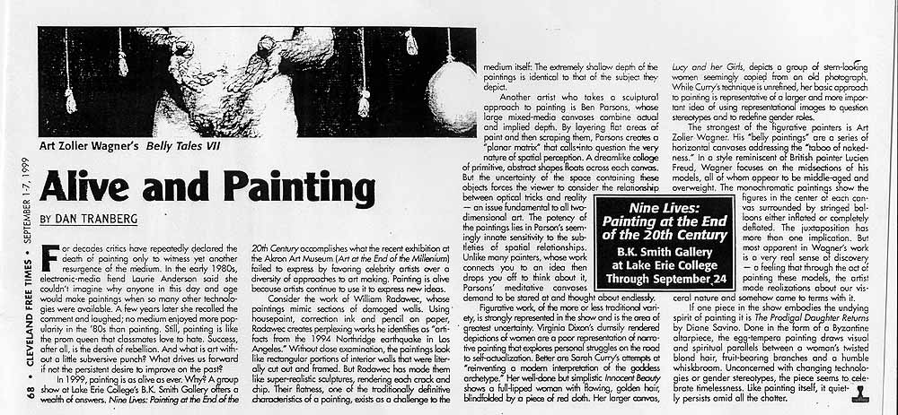 Review of 'Painting at the End of the Twentieth Century' exhibition